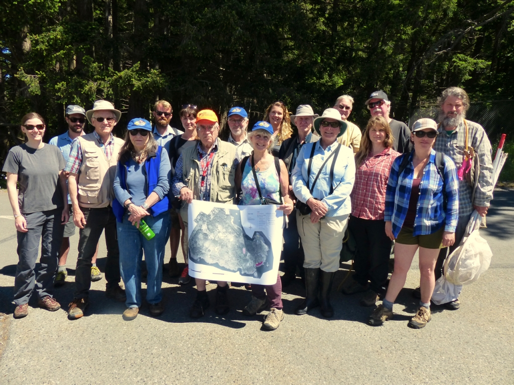 Bioblitz team May 2016